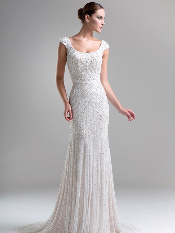 Ysa Makino, Style 3197. $4,500 at Bijou Bridal & Special Occasion in Ardmore, Pa. www.bijoubridal.com