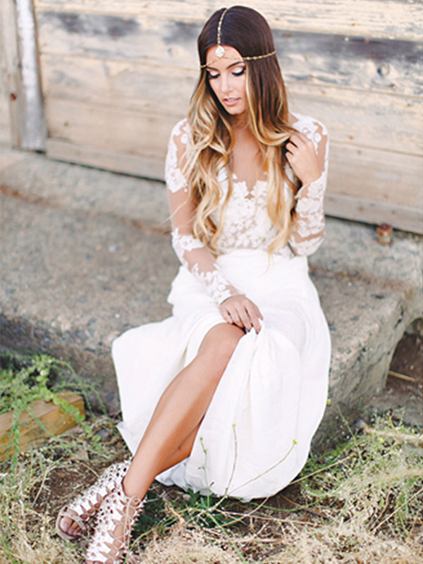 Hayley Paige. Price range: $2,700-$7,500 at Jennifer's Bridal, www.jennifersbridal.com Photo: Haute Bride