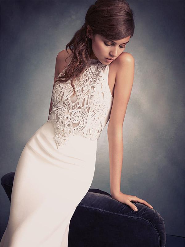 Tara Keely, Style 2606. Designed by Lazaro Perez. $1,600-$2,600 at Jennifer's Bridal, www.jennifersbridal.com