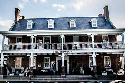 The wedding was held at The Brick Hotel in Georgetown, Del.