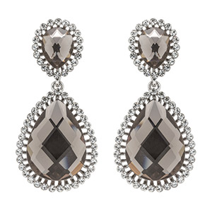 Justina earrings, Claire's Fashions