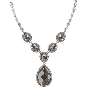 Justina necklace, Claire's Fashions