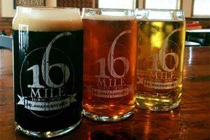 Photo via 16 Mile Brewery