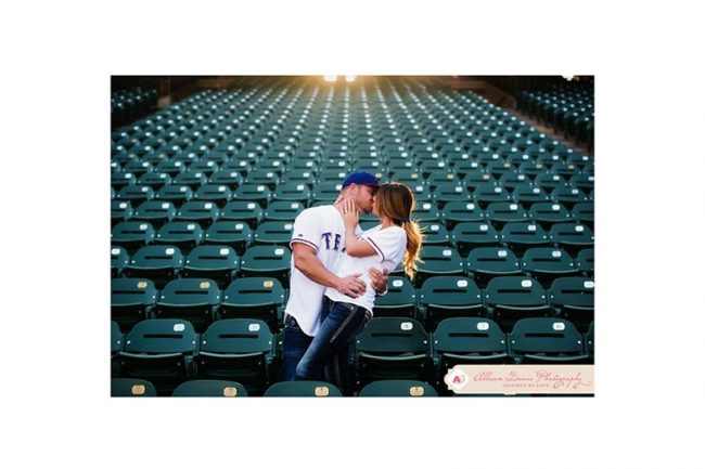 3. Get nostalgic. Did you first spot your spouse at a game or concert? Try going back and incorporating the venue.