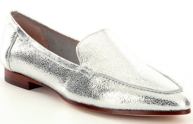 """KATE SPADE NEW YORK Carima Leather Loafers. $250. Available at <a href=""""http://www.lordandtaylor.com/webapp/wcs/stores/servlet/en/lord-and-taylor/shoes/special-occasion-54154--1/carima-leather-loafers"""">Lord & Taylor</a>."""
