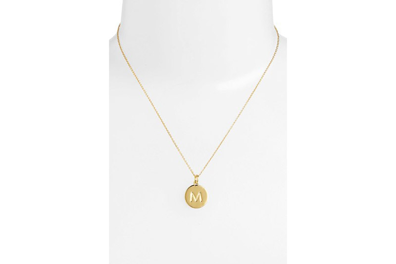 "2. Personalized Initial Necklaces This initial necklace from classic brand Kate Spade has ""One in a million"" engraved on one side and a bridesmaid's first initial on the other. She'll think of you every time she looks in her jewelry box.  Kate Spade New York, ""One in a Million"" necklace, $58, Nordstrom.com"