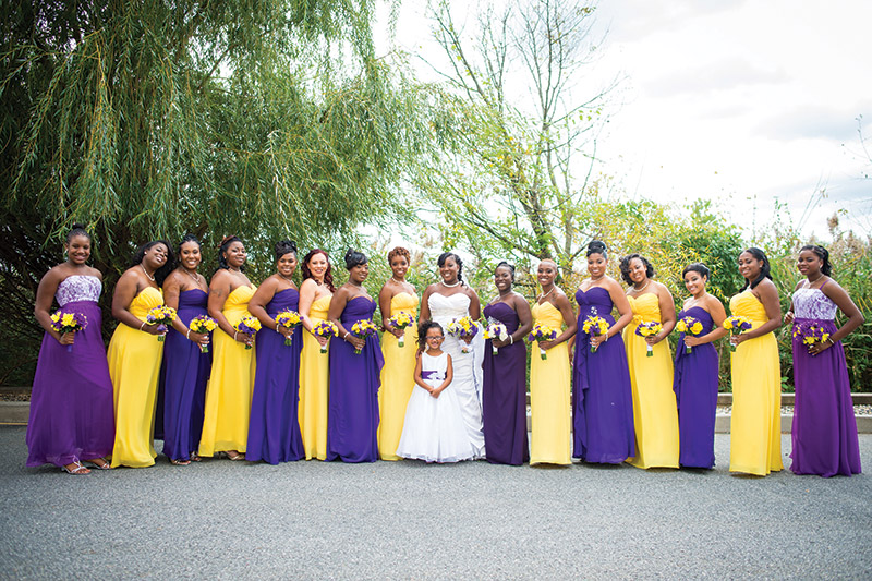 Real Wedding: A Family Affair