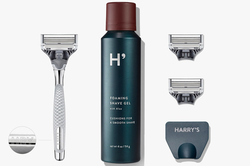 All of your groomsmen will be well groomed for the big day after using their personalized shaving kits. Engrave each razor with his initials.  $40, harrys.com
