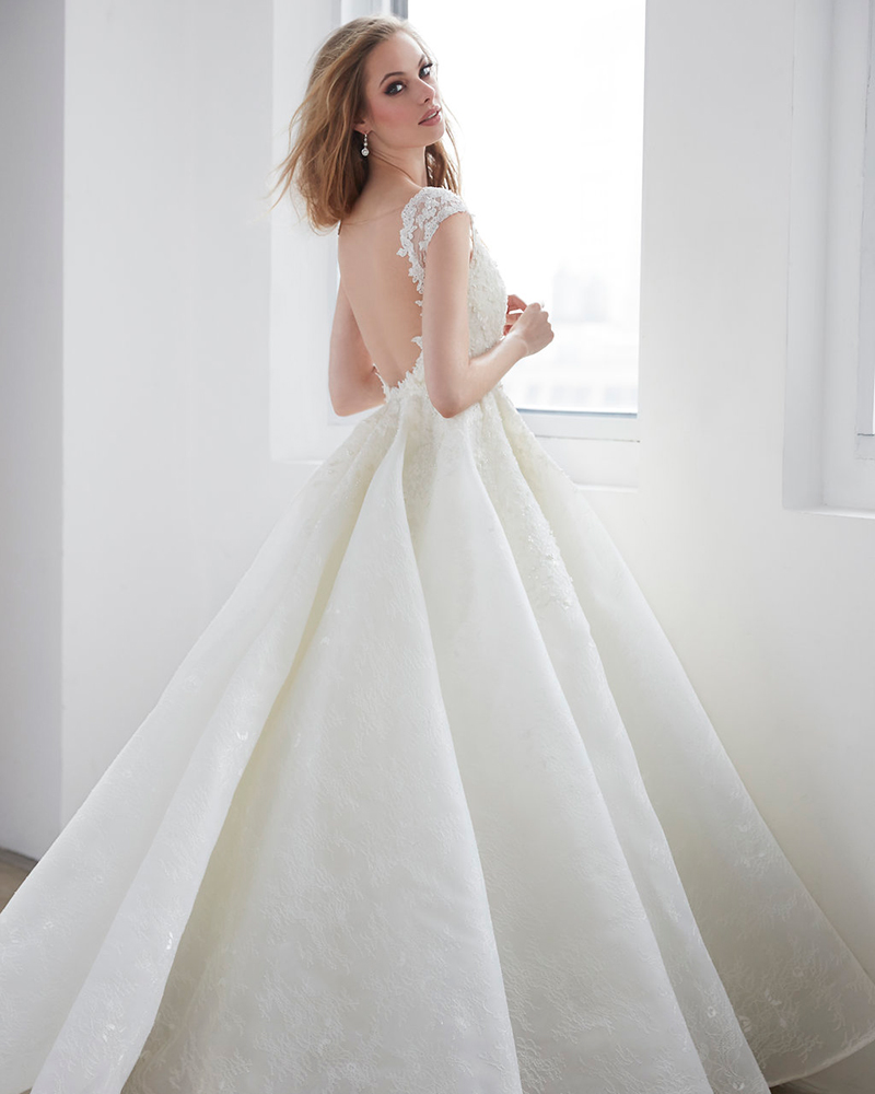 A Fairytale Princess Ball Gown Brought To Life With Crystal Beading And Sparkling Tulle