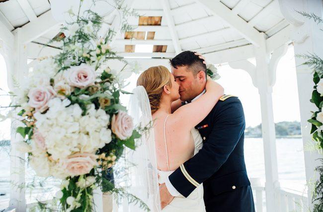 Military Wedding Weddings Today