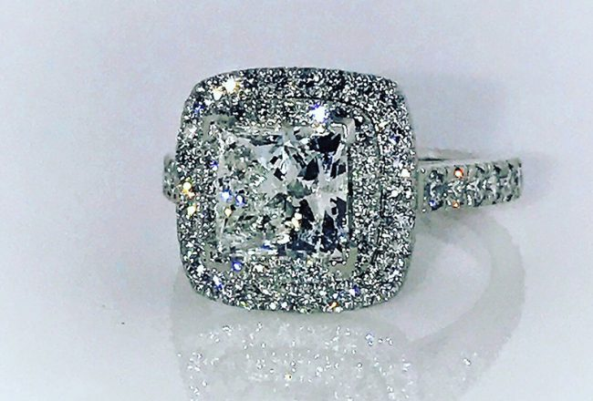 Sammi Sweetheart Engagement Ring Cozzi Jewelers Main Line
