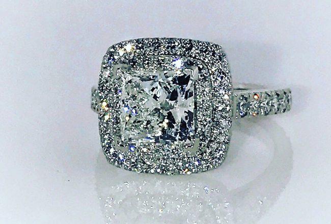Sammi Sweetheart Engagement Ring Cozzi Jewelers Main Line