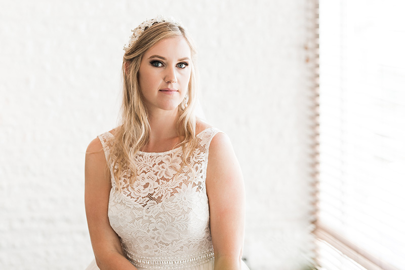 Bride Portrait, Meghan Ruggeri, Rehoboth Beach Wedding