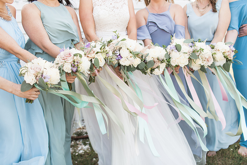 Bridesmaids Dresses Rehoboth Beach Wedding