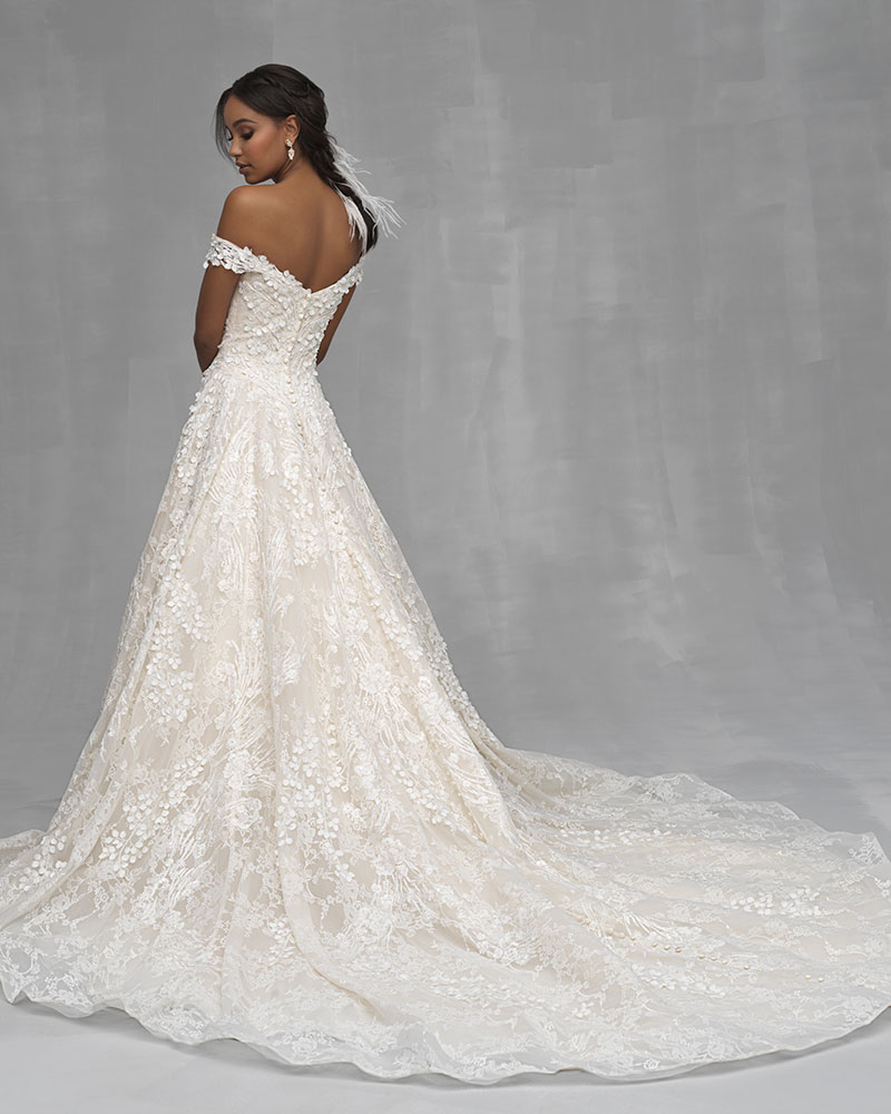 Allure Couture wedding dress style c250