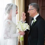 Ed Herr and Diane Rowe's Elegant Hotel Du Pont Wedding
